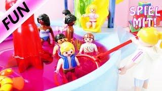 Playmobil Film Deutsch  ÄRGER IM TINTI AQUAPARK  Rene Macht Nur Blödsinn  Lena Und Chrissi