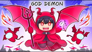 Among Us NEW GOD DEMON ROLE! (God Demon Mod)