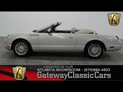 Video of 2005 Ford Thunderbird located in Alpharetta Georgia Offered by Gateway Classic Cars - Atlanta - KMSO