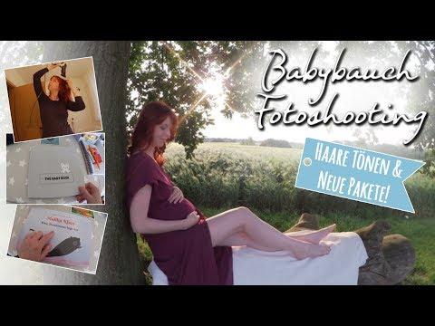 💕 BABYBAUCHSHOOTING 💕 & HAARE TÖNEN/ Vlog - Weiteres Babyzubehör