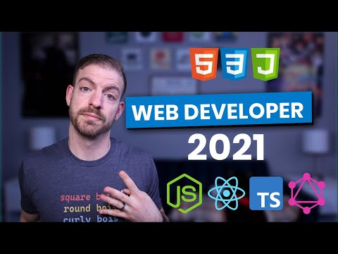 The **Simplest** Web Developer Path for 2021