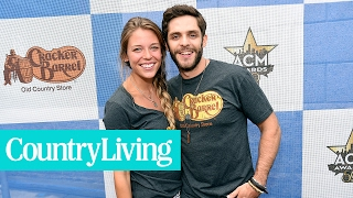 """The Real-Life Love Story Behind Thomas Rhett's """"Die a Happy Man""""   Country Living"""