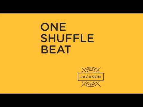 A basic shuffle beat.