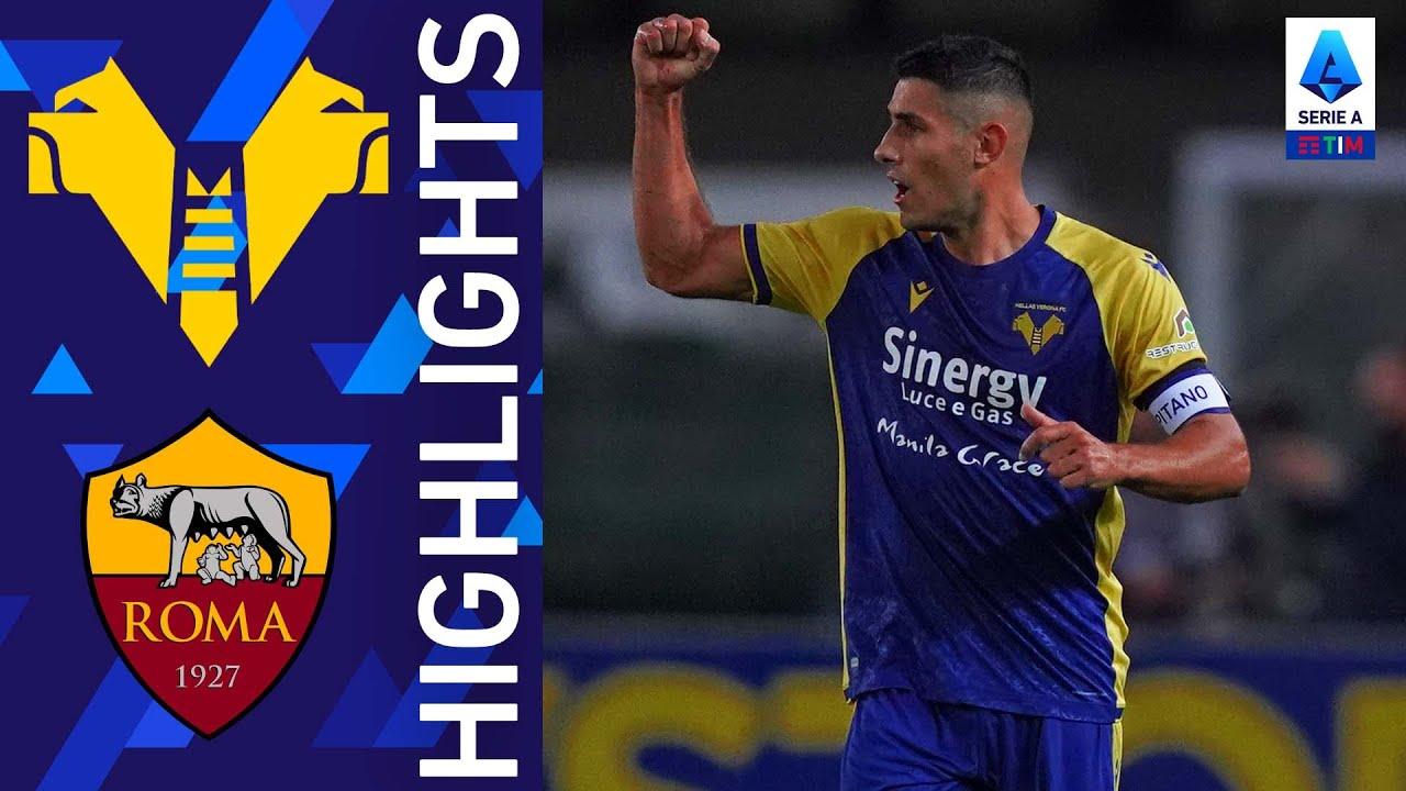 Verona 3-2 Roma | Impresa del Verona al Bentogodi! | Serie A TIM 2021/22