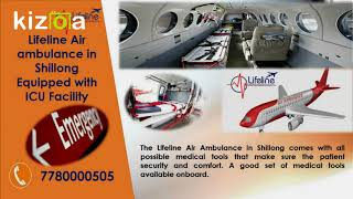 Departure Patient with Lifeline Air Ambulance in Shillong