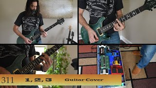 311~1, 2, 3~Grassroots~Guitar Cover