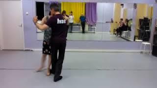 Урок 36. Иван. Мастер класс танго.