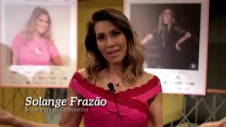 """Solange Frazão em Campinas com Ano Rosa Brasil em """"Eu Venci 2018"""""""