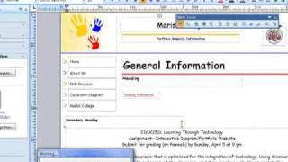 Publishing your Publisher 2007 website