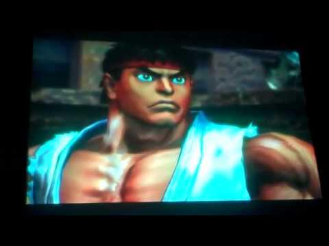 Ryu And Chun-Li Vs Kazuya And Nina