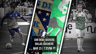 San Diego Sockers vs Dallas Sidekicks
