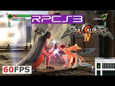 RPCS3 - SOULCALIBUR IV (PS3 Emulator test) 4K IR Vulkan i7