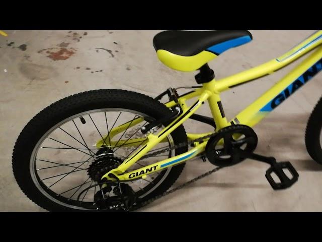 Видео Велосипед Giant XTC JR 20 LITE yellow
