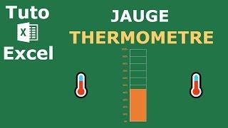 Comment Créer Une Jauge Thermomètre Sur Excel