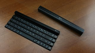 LG KBB -700 rollable bluetooth keyboard review (scissor switches)