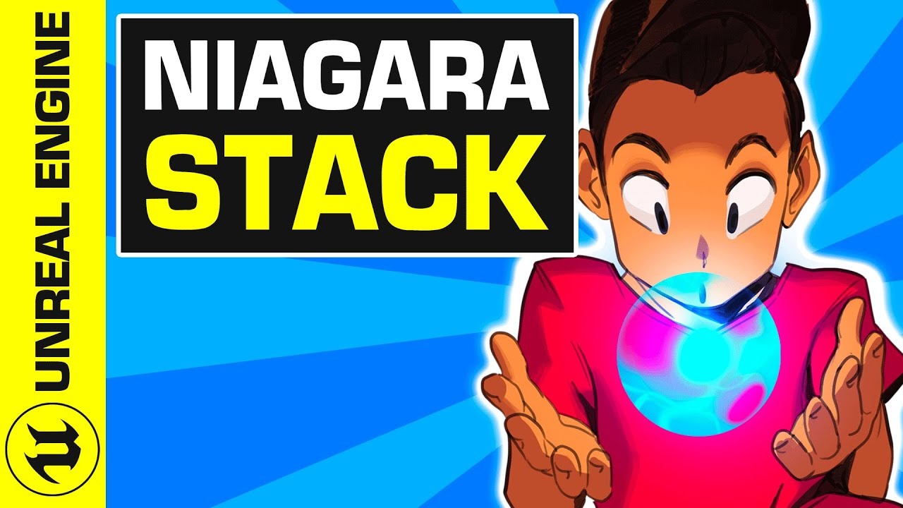 #3 Intro à Niagara Unreal Engine 4 : le Stack | UE4 Niagara Tuto FR