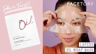 Lapcos Skin First Oil Wrap Mask | FaceTory