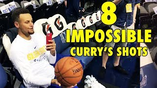 Can YOU do these 8 IMPOSSIBLE Stephen Curry's shots? - Video Youtube