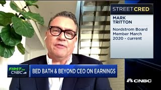 Bed Bath & Beyond CEO on earnings, store closures and the future outlook