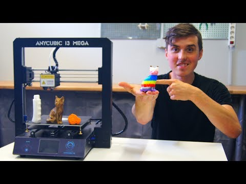 Better Than the Creality CR-10? – Anycubic i3 Mega Review