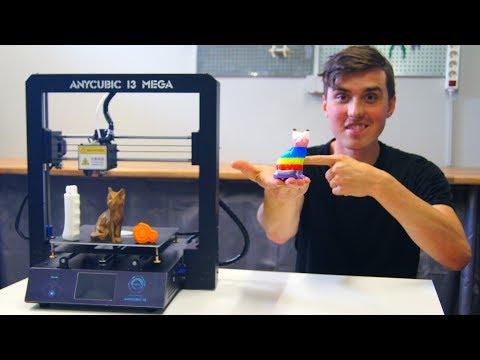 Better Than the Creality CR-10? - Anycubic i3 Mega Review - Музыка для  Машины