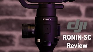 DJI RONIN-SC PRO COMBO OVERVIEW & REVIEW HANDS ON WITH GH5