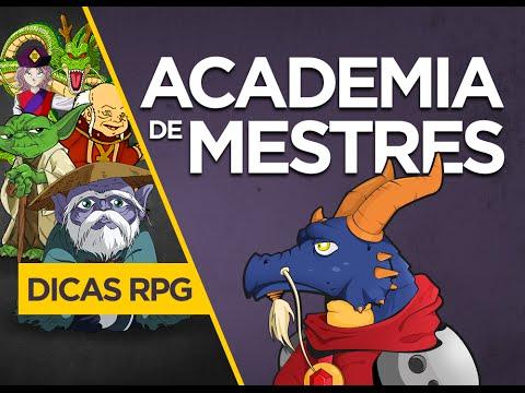 ACADEMIA DE MESTRES | Como criar uma Aventura de RPG