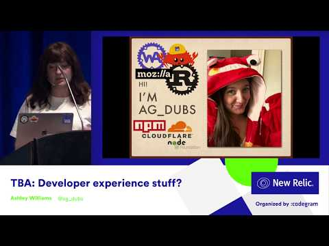 TBA: Developer experience stuff?
