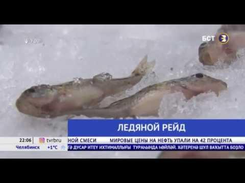 В Уфе спасатели наглядно показали, чем страшен тонкий лед