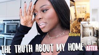 THE TRUTH ABOUT MY HOME FULL...RENOVATION AND TRANSFORMATION..this has been hard!  | NESTING PT 1