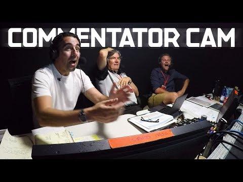 Commentator Cam Moments | ABB FIA Formula E Championship