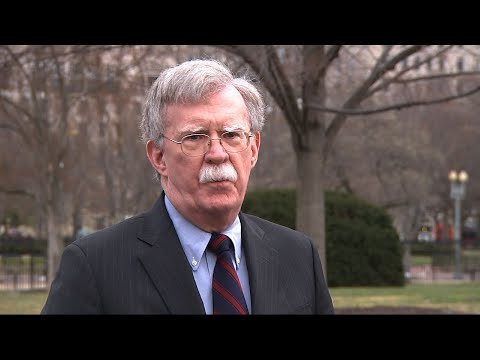 """National security adviser, John Bolton, says the White House was """"greatly disturbed,"""" by the New Zealand terror attack. Bolton also described new North Korean allegations that he created a hostile atmosphere in Hanoi as """"inaccurate."""" (March 15)"""