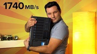 Shared RAID Storage over Thunderbolt 3 for VIDEO EDITORS - QNAP NAS
