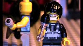 "lego stop motion: Anthrax ""Got the time?"""