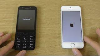Nokia 230 vs iPhone SE - Speed Test