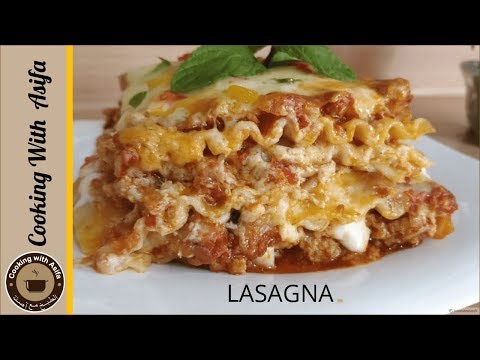 Tasty lasagna recipe fast-food style by Cooking with Asifa