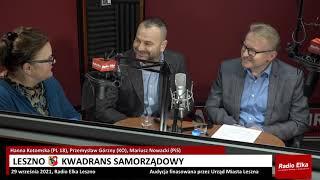 Wideo1: Leszno Kwadrans Samorządowy: Hanna Kotomska (PL 18), Przemysław Górzny (KO), Mariusz Nowacki (PiS)