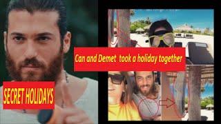 Can Yaman and Demet Özdemir took a holiday together? Demet Özdemir surprised selfie pose.