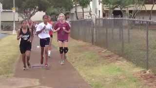 preview picture of video '2014 OIA Preseason XC Meet at Mililani - Girls Race'