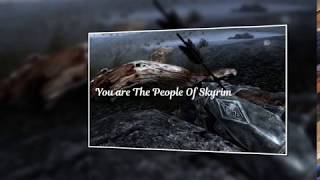 Release Date For The People Of Skyrim 2 #Skyrim #Mods #SSE #XB1 #Gaming