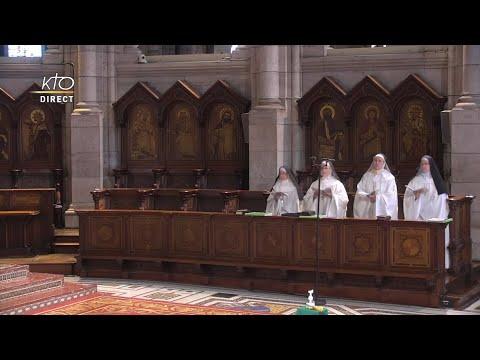 Prière du Milieu du jour du 13 octobre 2021 des Bénédictines du Sacré-Coeur de Montmartre