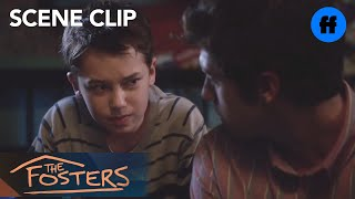 The Fosters   Season 1, Episode 11: Brandon & Jude Heart to Heart   Freeform