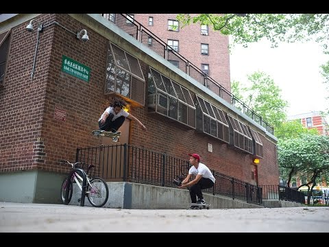 Image for video An afternoon in New York City with the Volcom Skate Team