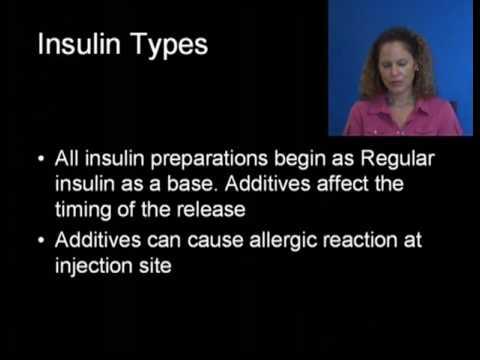 Video Treatment Type 1 Diabetes Mellitus