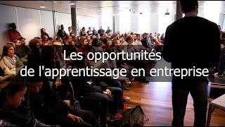 Les opportunités de l'apprentissage en entreprise Video Preview Image