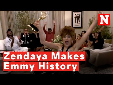 Emmys 2020: Zendaya Fans Go Crazy After Historic Win For 'Euphoria'