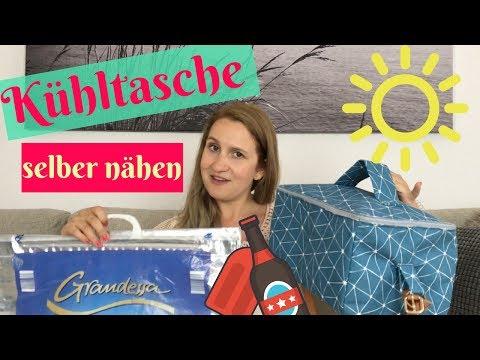 Coole Ideen für den Sommer/ zum selbermachen/ Coole Kühltasche selber nähen/ ohne Schnittmuster
