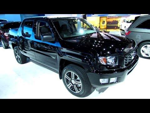 2013 Honda Ridgeline Sport 4WD - Exterior and Interior Walkaround - 2013 Detroit Auto Show