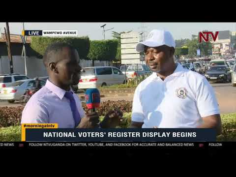 ON THE GROUND: The voter verification excercise kicks off