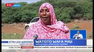 Watoto wawili wazama kwenye mto Tana